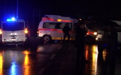 Elbasan, makina del nga rruga, dy të vdekur
