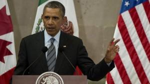US President Barack Obama at North America Summit