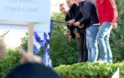 Tifozët Kuq e Zi dhe AK protestë për vdekjen e Ilia Karelit