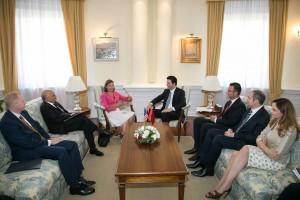 Basha pret ne takim Ndihmes Sekretaren amerikane Victoria Nuland