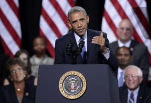 Obama signs the Veterans Access to Care through Choice, Accountability, and Transparency Act of 2014