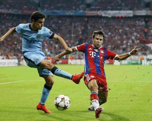 Champions League, Bayern mund Manchester City-n