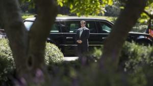 Obama-eskort