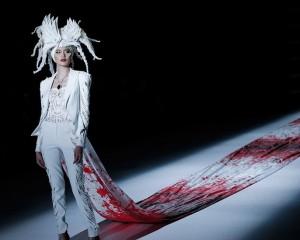 Halloween në javën e modës në Pekin