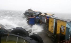 Japonia goditet nga tajfuni i fuqishem Phanfone