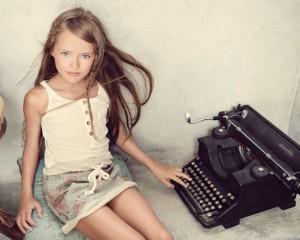 Kristina, supermodelja 9 – vjeçare