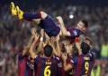 La Liga, Real mban kreun, Messi thyen rekordin e golave