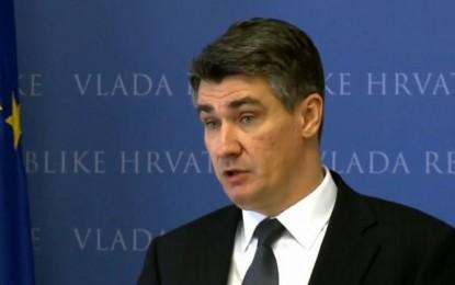 Kryeministri i Kroacisë anullon vizitën në Beograd