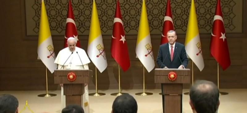 Papa Francesku vizite 3-ditore ne Turqi