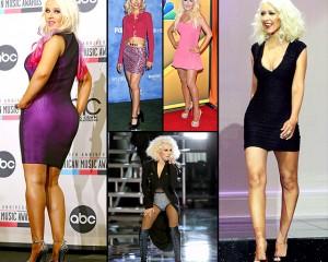Ndryshimet fizike të Christina Aguileras (Foto)