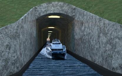Norvegjia, plan per tunel detar