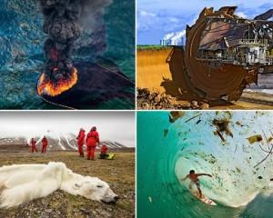 Fotot e llahtarshme që tregojnë dëmtimin ndaj Tokës