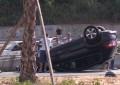Batohet në autostradë fuoristrada, plagoset lehtë drejtuesi i mjetit
