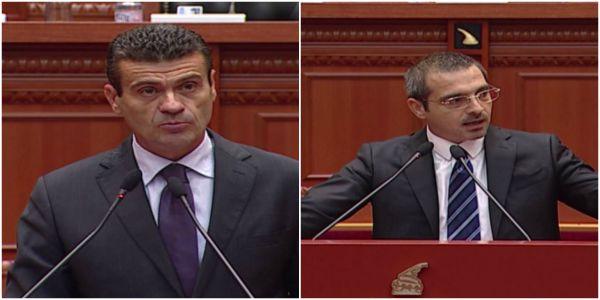 Replika mes deputetit Patozi dhe Ministrit Tahiri ne parlament