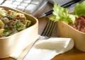 Brokoli, patate dhe sallam në furrë