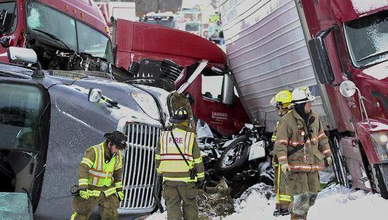 60 makina perplasen ne SHBA 3 viktima dhe mbi 70 te plagosur