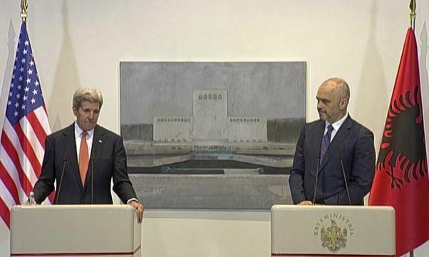 Reforma ne Drejtesi ja cfare thane Kerry dhe Rama pas takimit