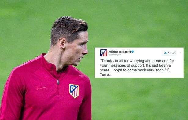 Fernando Torres është jashtë rrezikut