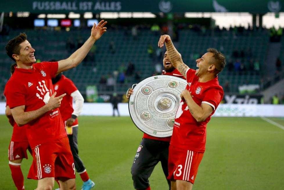 Bayern siguron titullin në Gjermani