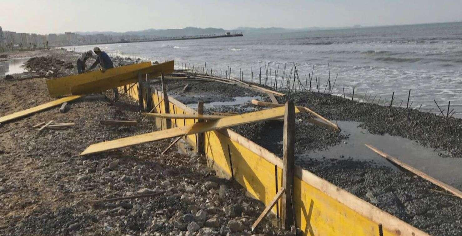 Beton buzë detit në plazhin e Durrësit, Prokuroria nis hetimet