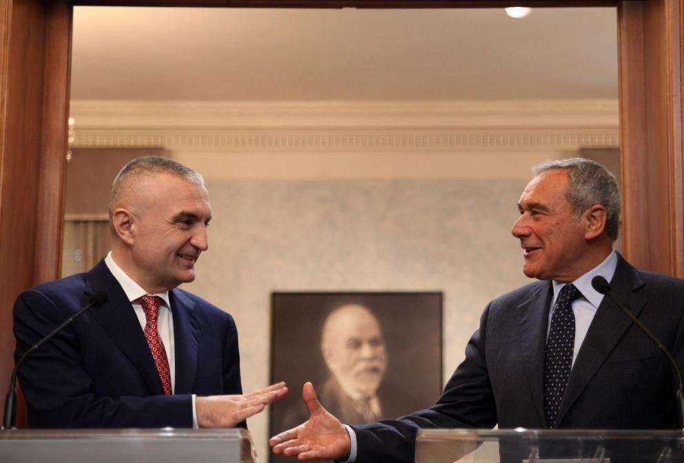 Presidenti i Senatit italian uron Metën