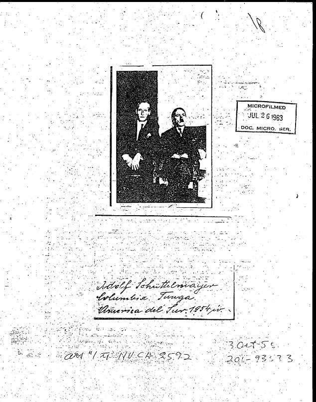 Dokumenti i CIA: Hitleri nuk vdiq në bunker. U pa në Kolumbi, në vitin 1954