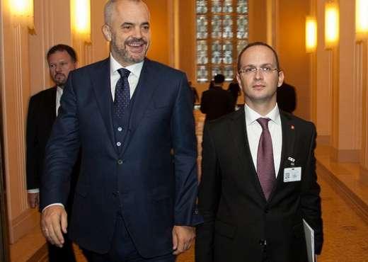 Rama dhe Bushati lobojnë për Shqipërinë në Bruksel