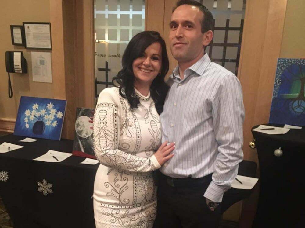 Fatos Metko dhe bashkëshortja Maralba
