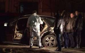 Lëndë shpërthyese makinës në kryeqytet