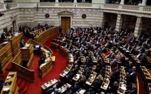 Marrëveshja e Prespës në parlamentin grek