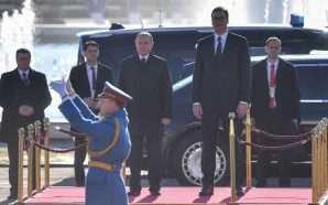 Putin nis vizitën në Beograd