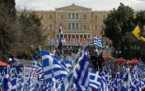 Grekët ngrihen në protestë kundër emrit të Maqedonisë