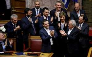 Tsipras merr votëbesimin nga parlamenti grek