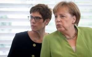 """Pasuesja e Merkel, """"pastruese"""" e CDU-së"""