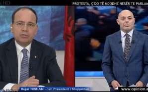 Nishani: Opozita nuk ka asnjë projekt dhune