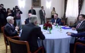 Zaev e Ahmeti takohen për kandidatin për president