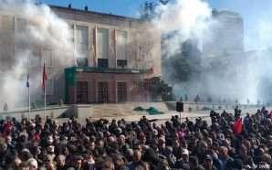 Protesta, jehonë në mediat e huaja