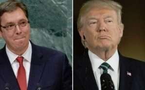 Mediat serbe: Trump i ka kërkuar Vuçiçit të njohë Kosovën