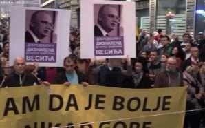 Protestë para Televizionit Publik