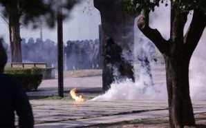 Sërish dhunë në protestën e PD