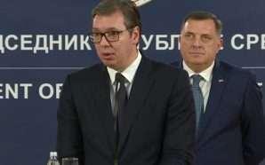 Vuçiç mund të falë protestuesit e arrestuar