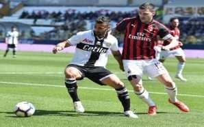 Milan barazon në Parma