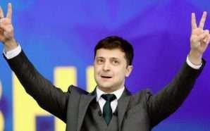 Ukraina i beson një komediani