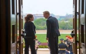 Ministrja Xhaçka në Pentagon, takohet me Sekretarin e Mbrojtjes