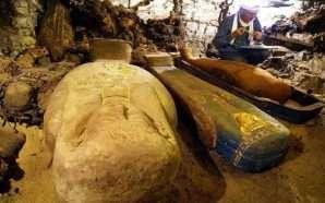 Nekropoli i zbuluar në Egjipt