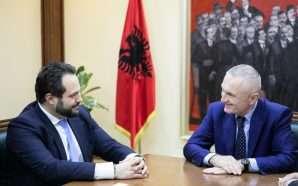Meta takim me Zëvendës Presidentin e Parlamentit Europian