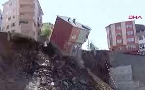 Shembet ndërtesa katërkatëshe (video)