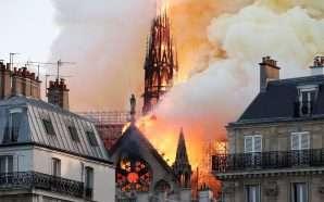 Djegia e Notre Dame u parashikua