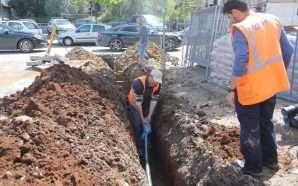 Dy lagje në kryeqytet me rrjet të ri ujësjellësi