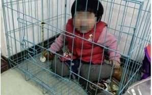 Hakmarrje ndaj ish gruas, babai mbyll vajzën në kafazin e…